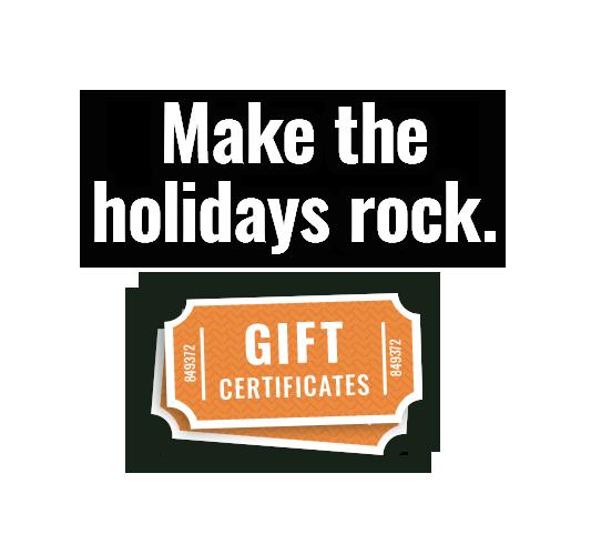 Buy Gift Certificates